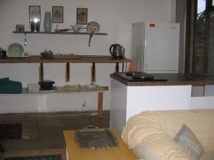 Kishen with stove