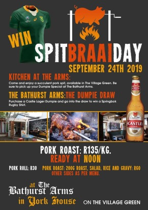 Pork Spit Braai Bathurst